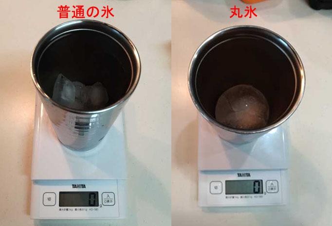 職場で冷たくておいしいアイスコーヒーを飲み続けたい!普通の氷と丸い氷で試してみた!