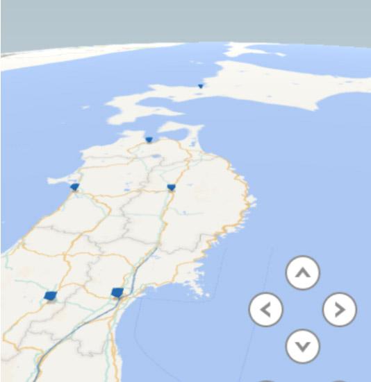 緯度と経度のデータからExcelで地図上に表して分析する方法(excel Ver2016~)